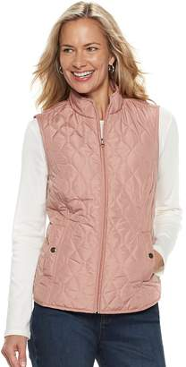 Croft & Barrow Women's Classic Quilted Vest