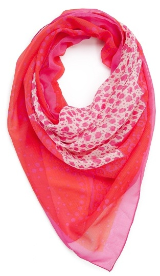 MANGO TOUCH - Lace print scarf