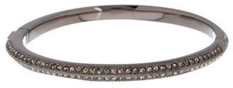 Nadri Double Pave Crystal Row Bangle