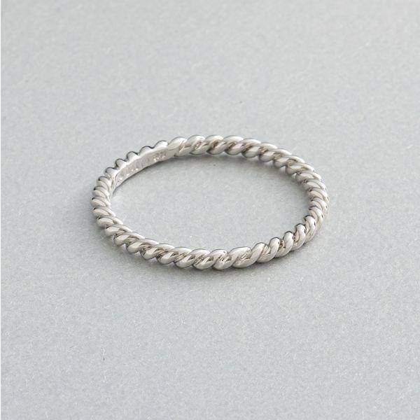 Simply vera vera wang sterling silver rope ring