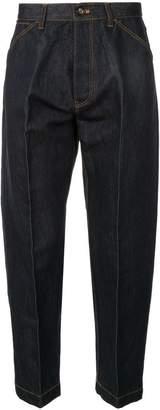 TOMORROWLAND paper x denim trousers