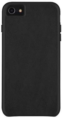 Barely There Case-Mate Apple iPhone 8/7/6s/6 Leather Case - Smooth Black