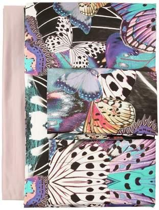 Roberto Cavalli Flying Wings Satin Duvet Cover Set
