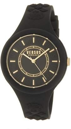 Versace Women's Silicone Strap Watch, 39mm