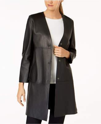 Max Mara Delis Leather Jacket
