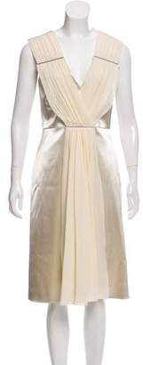 Christopher Kane Draped Satin Dress