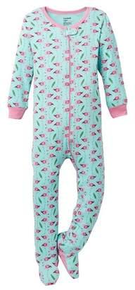 Leveret Flamingo Footed Sleeper (Toddler & Little Girls)