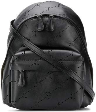 Stella McCartney mini monogram backpack