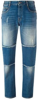 Stella McCartney panelled boyfriend jeans