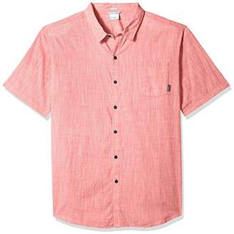 Columbia Men's Under Exposure Big and Tall Yarn Dye Short Sleeve Shirt