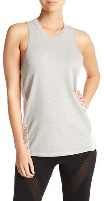 Zella Z By Trickster Perforated Back Tank Top