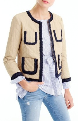 Women's J.crew Quilted Safari Jacket $178 thestylecure.com