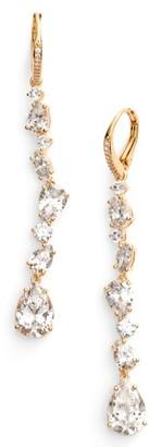 Women's Nadri Ava Linear Drop Earrings $95 thestylecure.com