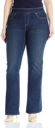 Levi's Gold Label Women's Plus-Size Pull On Bootcut Jeans