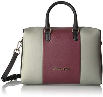Armani Jeans Eco Saffiano Boston Bag
