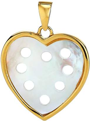 Asha Small Mother-of-Pearl Heart Charm