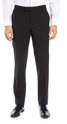 Nordstrom Trim Fit Stretch Wool Tuxedo Trousers