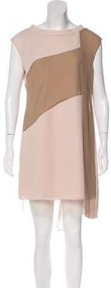 BCBGMAXAZRIA Silk Knee-Length Dress
