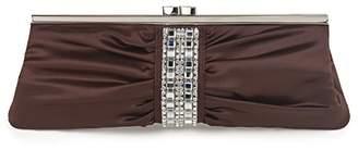 Farfalla Womens 90112 Top-Handle Bag Brown