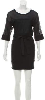 Christian Dior Short Sleeve Mini Dress