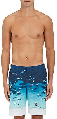 "Orlebar Brown Men's ""Boat Party"" Dane II Swim Trunks $345 thestylecure.com"