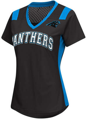 G-iii Sports Women Carolina Panthers Wildcard Jersey T-Shirt