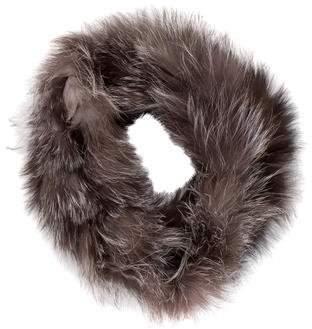 Adrienne Landau Infinity Fur Scarf