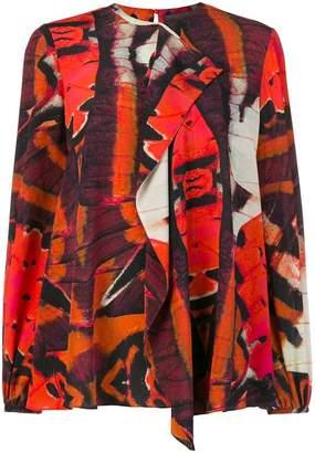 Alexander McQueen Butterfly blouse