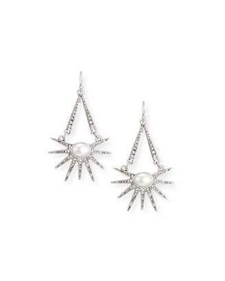 Lulu Frost Zenith Hinged Drop Earrings $225 thestylecure.com