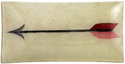 Arrow Small Rectangular Tray
