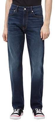 Calvin Klein Jeans Men's Ckj 037 Relaxed Straight Fit Jean