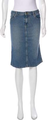 Marc Jacobs Knee-Length Jean Skirt