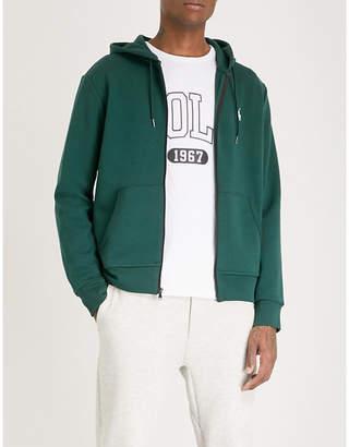 Polo Ralph Lauren Logo-embroidered tech-jersey hoody