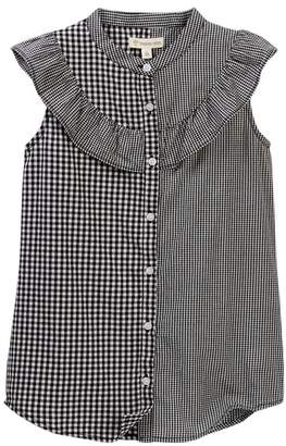 Tucker + Tate Sleeveless Ruffle Button Down Dress (Big Girls)