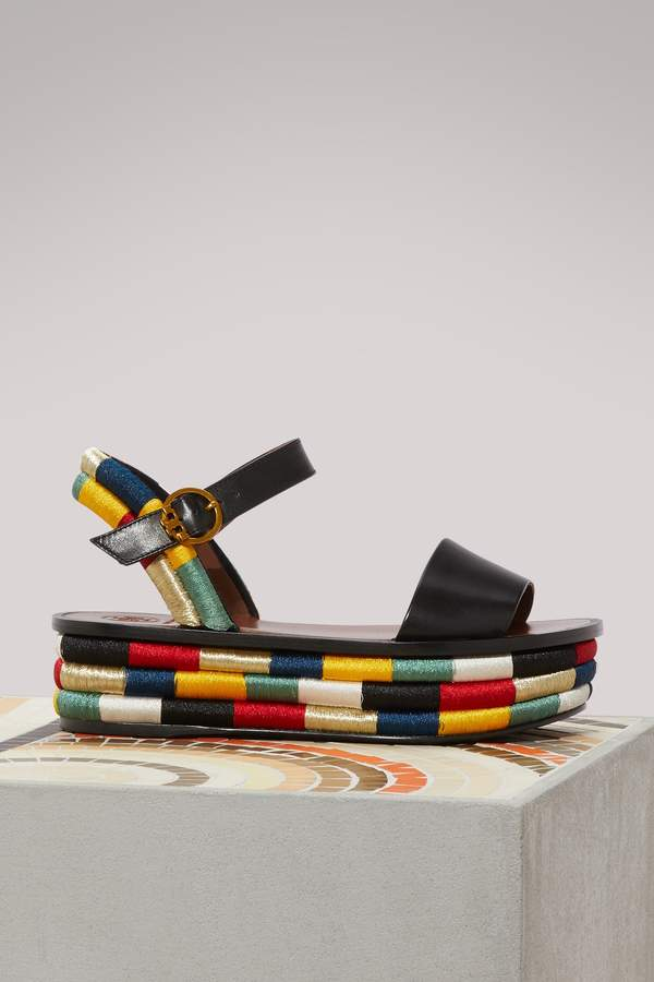 Tory Burch Platform Camilla sandals