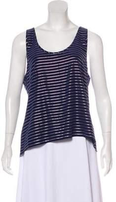 Joie Sleeveless Striped Top