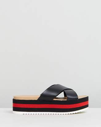 441e1a67370 Steve Madden Black Sandals For Women - ShopStyle Australia