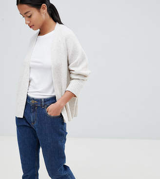 Asos (エイソス) - ASOS Petite ASOS DESIGN Petite Eco Cardigan In Fluffy Yarn
