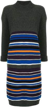 Coohem striped sweater dress