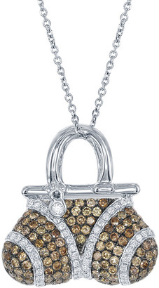 Diana M Fine Jewelry 18K 1.60 Ct. Tw. Diamond Necklace
