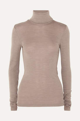 Hanro Wool And Silk-blend Turtleneck Sweater