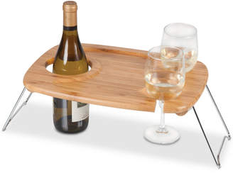 Picnic Time Mesavino Portable Wine Table