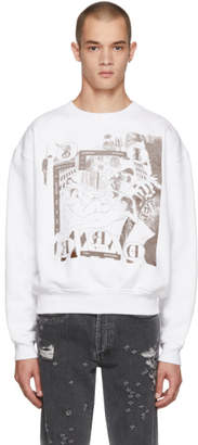 Enfants Riches Deprimes White Bath House Orgy Sweatshirt
