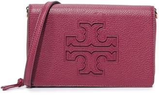 Tory Burch Harper Flat Wallet Cross Body Bag $295 thestylecure.com