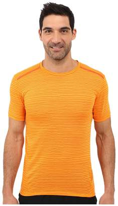 Nike Dri-FITtm Cool Tailwind Stripe Running Shirt Men's Workout