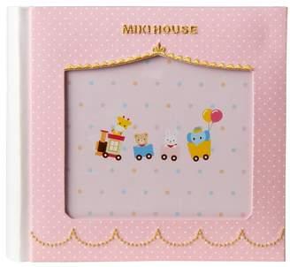 Mikihouse (ミキハウス) - ミキハウスベビー フォトフレーム付きミニアルバム(ポケット式)【ピンク】【箱入】