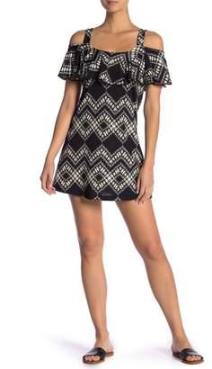 J Valdi Cold Shoulder Dress