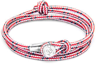 """Anchor And Crew Silver & Rope Bracelet """"Dundee"""""""