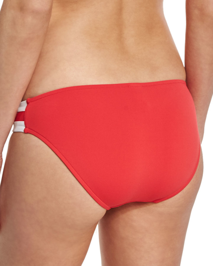 Seafolly Block Party Spliced Hipster Swim Bottom 3