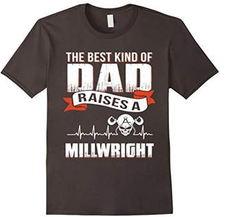 DAY Birger et Mikkelsen Father gift Best dad raise a millwright shirt